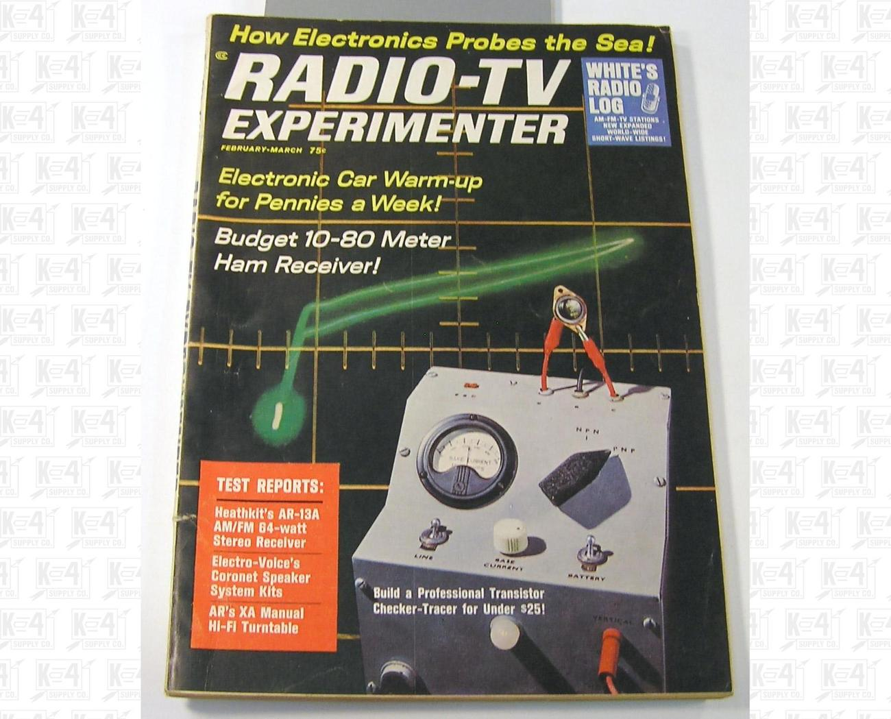 Radio-TV Experimenter Magazine Issue Feb-March 1965