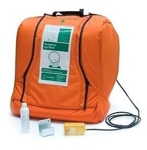 Guardian G1540HTR Plastic Aquaguard Gravity Operated Portable Eye Wash with Heat - $2,731.03