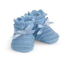 American Girl Addy Walker Nightgown Blue Knit Slippers for Doll Only - $14.99
