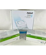 BRAND NEW iRobot Braava jet 240 Robot Mop w/TWO Boxes of Wet Mopping Pads! - $174.55