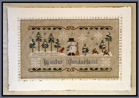 Winter Thread Pal thread pouch prefinished accessory cross stitch Impie Hattie &