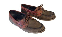SLIP SHOE MENS LEATHER BOAT TIMBERLAND CASUAL 9 M SIZE EUC DECK LOAFERS ON Zq4dYwP