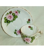 Hammersley Royal Avon Cup & Saucer Shakespeare Provincial Rose Romeo & J... - $17.35