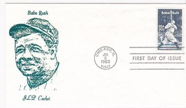 BABE RUTH #2046 CHICAGO, IL JULY 6, 1983 JLP CACHET D-667 - ₹228.14 INR