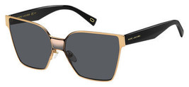 Marc Jacobs Marc 212/S Sunglasses 024S 60 Gold White (IR - $155.43
