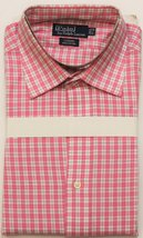 "'Polo by Ralph Lauren Pink/ Navy & White Plaid Spread Collar Shirt' Sz: 17-36"" - $50.00"