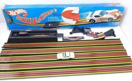 Mattel 1981 Hot Wheels LOOP & CHUTE Stunt Set Track with Original Box - $29.63
