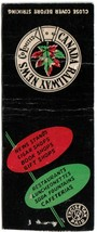 Matchbook Cover Canadian Railway News Excise Paid - $1.89