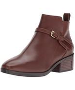 Cole Haan Women's ETTA Bootie II Ankle Boot Harvest Brown Leather 7.5 B US - $78.02