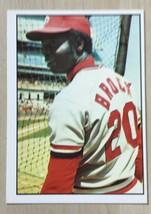 1975 TOPPS SSPC #20 LOU BROCK CARDINALS  HOF - $2.48