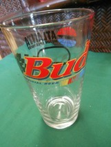 Great Collectible Bud Glass Nascar's ...Atlanta Speedway........Free Postage Usa - $16.42