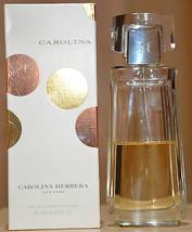 Carolina Perfume By Carolina Herrera Edt 3.4 Oz Used Discontinued Rare Vhtf! - $99.99