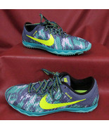 NIKE ZOOM RIVAL Waffle Cross Country Racing XC 749352-473 Women's size 5... - $16.84