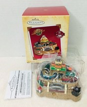 2004 Lionelville Magic  Hallmark Christmas Tree Ornament Box w Price Tag... - $123.26
