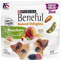 Purina Beneful Made in USA Facilities Dog Training Treats, Baked Delight... - $15.98 CAD