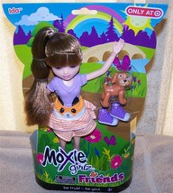 "Moxie Girlz Friends IDA 10"" Doll with pet New - $14.88"