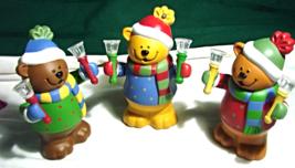 Avon 2005 Musical Bells Bears Trio - $22.00