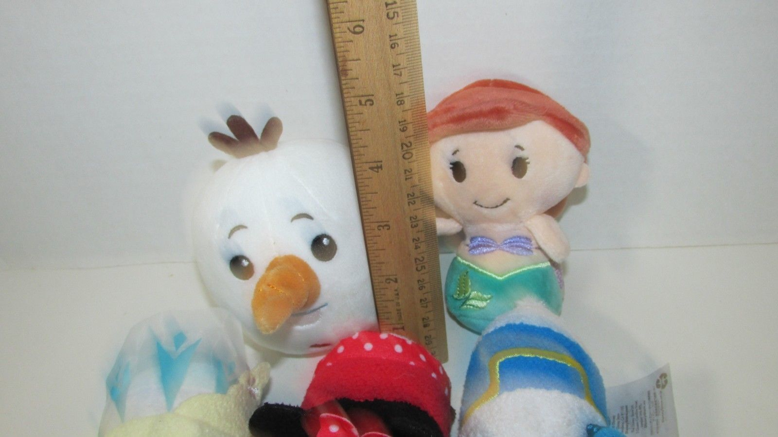 Hallmark plush lot Itty Bittys Little Mermaid Tsum tsum minnie mouse donald duck
