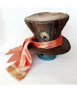 Disney Mad Hatter Top Hat Alice In Wonderland Adjustable Costume Cosplay... - $24.99