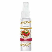 Avon Naturals Raspberry Body Mist Body Spray 100 ml New Rare Winter Trea... - $15.79