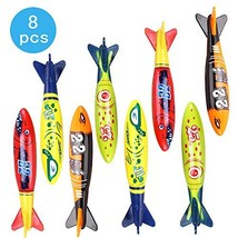 Herefind PinkEllie Pool Toys Torpedo Swimming Diving Underwater Rocket T... - $7.94