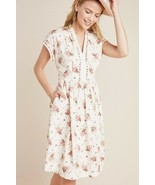 NWT ANTHROPOLOGIE CECILY POPLIN MAXI DRESS by GAL MEETS GLAM 2P - $132.99
