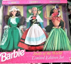 Barbie Dolls - 1994 Dolls of the World Gift Set (3 Dolls) Limited Editio... - $59.95