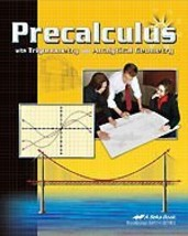 A Beka Precalculus with Trigonometry and Analytical Geometry [Paperback] - $14.99