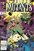 (CB-1} 1989 Marvel Comic Book: The New Mutants #79 - $3.00