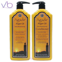 Agadir Argan Oil Daily Moisturizing Shampoo + Conditioner Set,  2x1000ml - $59.50