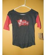 Indiana Hoosiers girls T-Shirt Top Shirt Size-Medium 7-8 NWT Go Big Red - $8.44