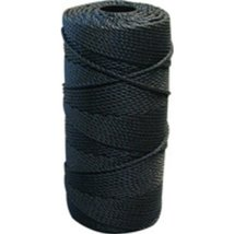 Lee Fisher Size 18 1 lb Braided Twine Black 950 Ft 115 Test - $26.66