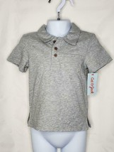 Gray polo Cat & Jack boys Size 18 months 2 buttons - $8.90