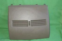 07-12 Nissan Versa Center Upper Dash Vent Bezel Trim Panel Tan/Brown image 2