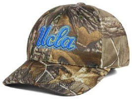 Ucla Bruins Ncaa Tow Real Tree Camo Memory Fit Hat - $16.78