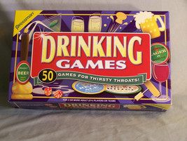 Drinking Games - 50 Games For Thirsty Throats! - for 2 or more Adult Pla... - $9.98