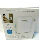 Takashi Instant Wireless Router and Repeater Sealed...see photos. - $0.99