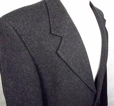 Horizon Blazer Mens Size 42 Regular Cashmere Blend 2 Button Gray Italian... - $26.68