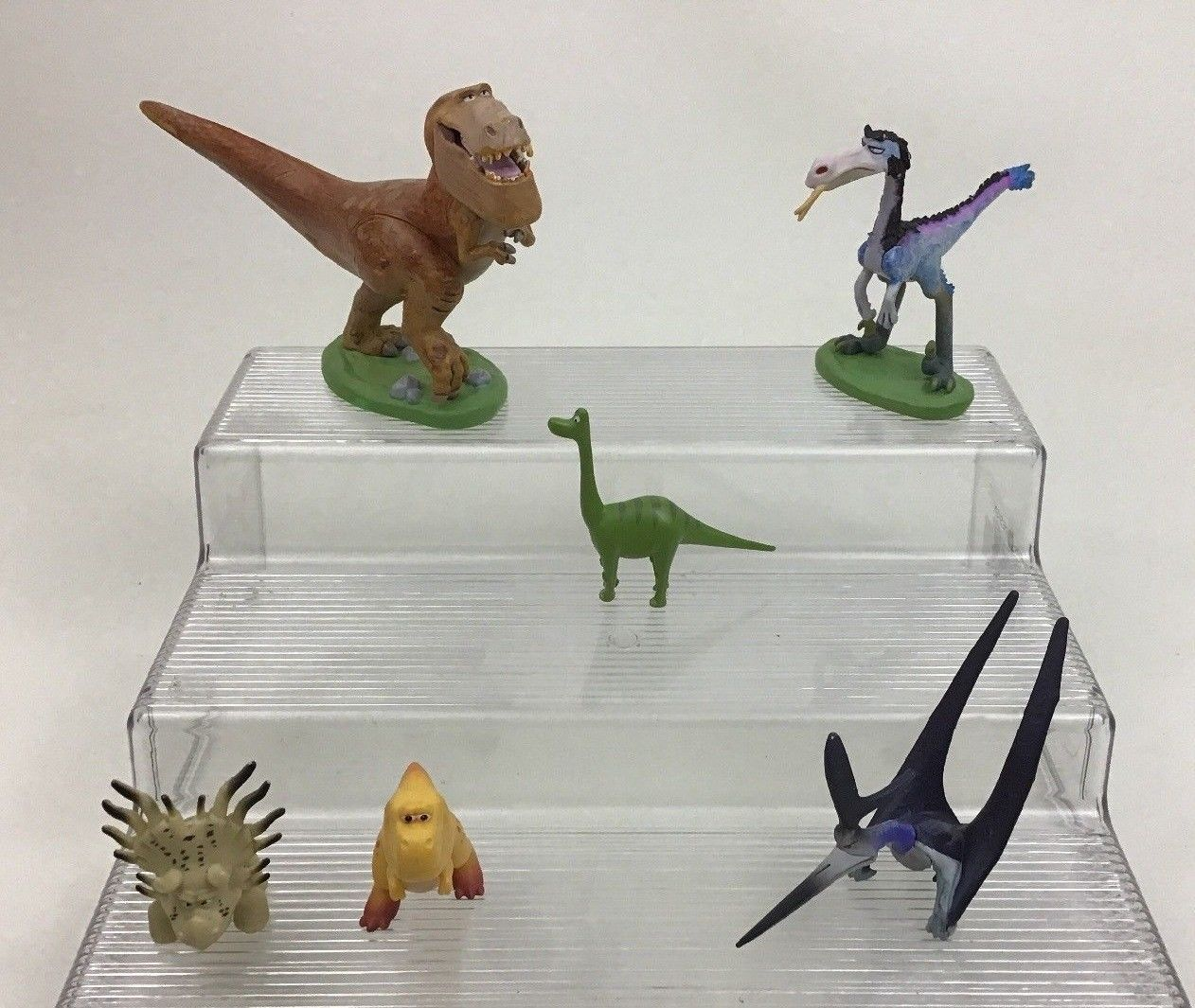 Disney Pixar The Good Dinosaur 6pc Figure PVC Lot cake Topper Arlo Butch Nash