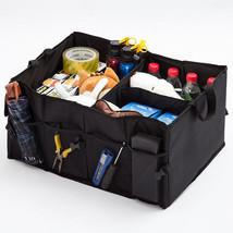 Car Storage Boxes Trunk Organizer Tools Toy Bins Cubes Basket Bag Auto C... - $26.41