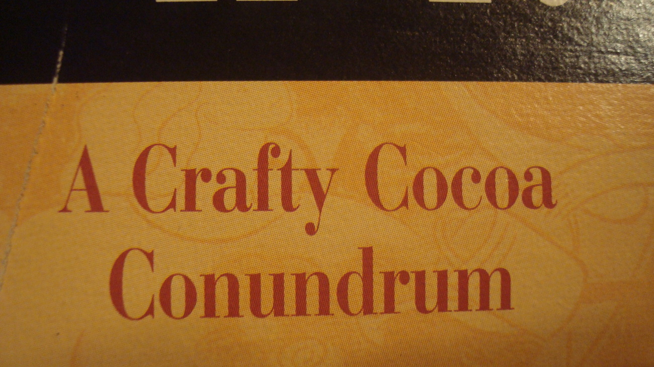 A Crafty Cocoa Conundrum - Heart Puzzle - Wooden