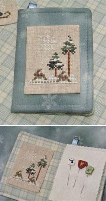 Winter Marking Pin Set prefinished accessory cross stitch Impie Hattie & Bea