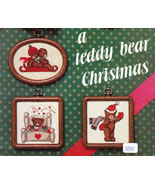 CROSS STITCH DALE BURDETT A TEDDY BEAR CHRISTMAS - $4.95