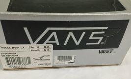 Vans Black Croc Pattern Chukka Boot LX Men 8 Women 9.5 Original Box IOB Shoe image 10