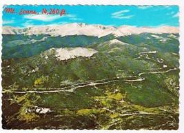 Colorado Postcard Mt Evans Snowy Range Squaw Pass Highway - $2.84