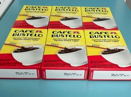 (Pack of 6) Bustelo Instant Coffee 6 Single Serve Packets. Free Shipping! - $20.74