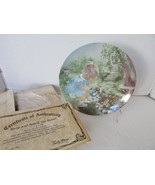 R.J. ERNST COLLECTOR PLATE STOP AND SMELL THE ROSES SEEMS LIKE YESTERDAY... - $4.90