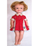 Vintage PENNY BRITE Reading Doll With Outfit & Red Purse From 1963 - $24.99