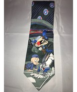 MLB Toronto Blue Jays Elmer Fudd Bugs Bunny Taz Looney Tunes Classic Nec... - $25.73