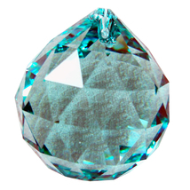 Swarovksi Crystal Faceted Ball Prism image 8
